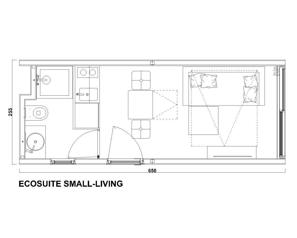 EcoSuite Small Living by Argenti e Biolam Italia