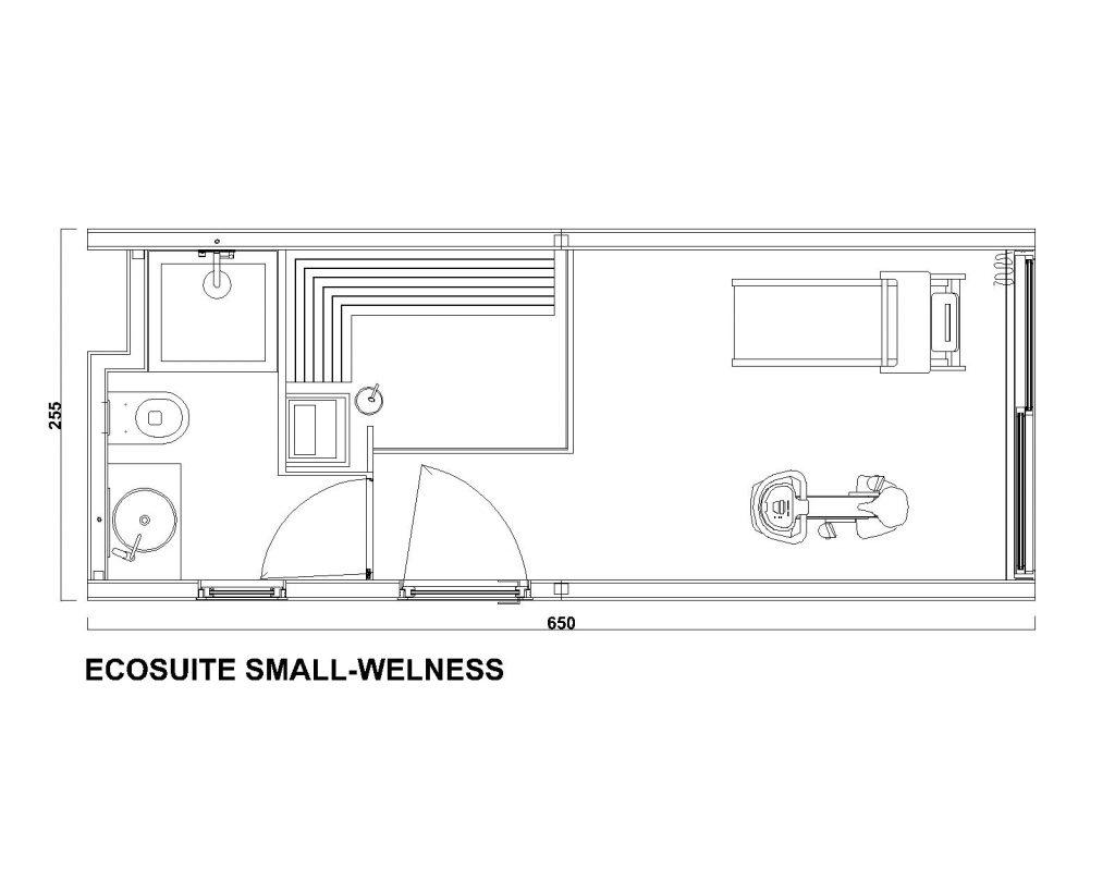 EcoSuite Small Wellness by Argenti e Biolam Italia